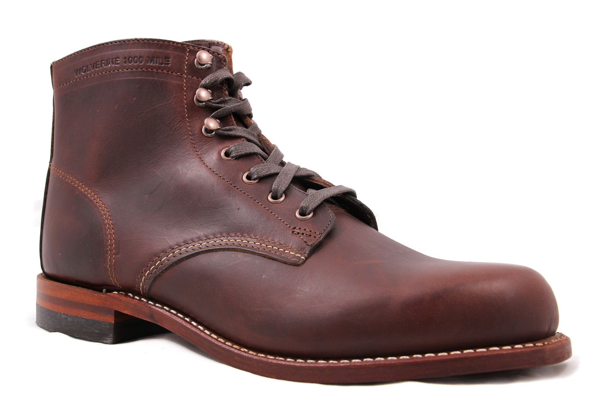 WOLVERINE 1000 MILE BROWN W05301 - COSMOTOG