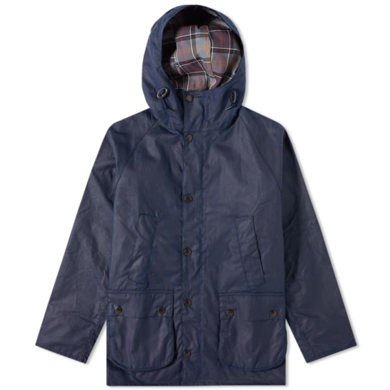 BARBOUR SL BEDALE HOODED WAX JACKET JAPAN COLLECTION - INDIGO