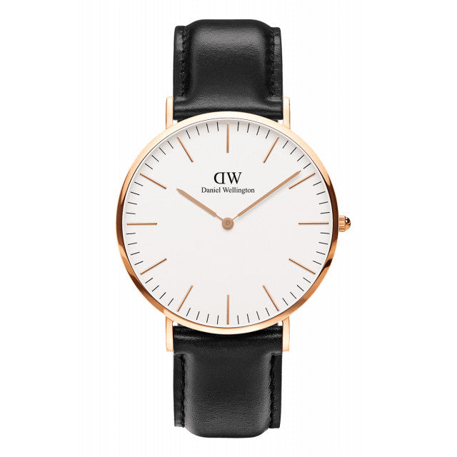 SHEFFIELD MAN WATCH ROSE GOLD 40mm - COSMOTOG