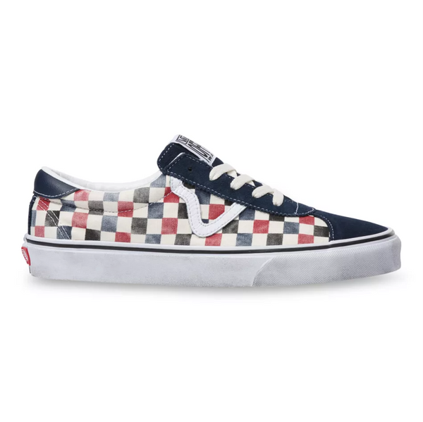 WASHED VANS SPORT - DRESS BLUES/CHILI PEPPER