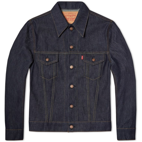 LEVI'S VINTAGE CLOTHING 1967 TYPE III TRUCKER JACKET - RIGID
