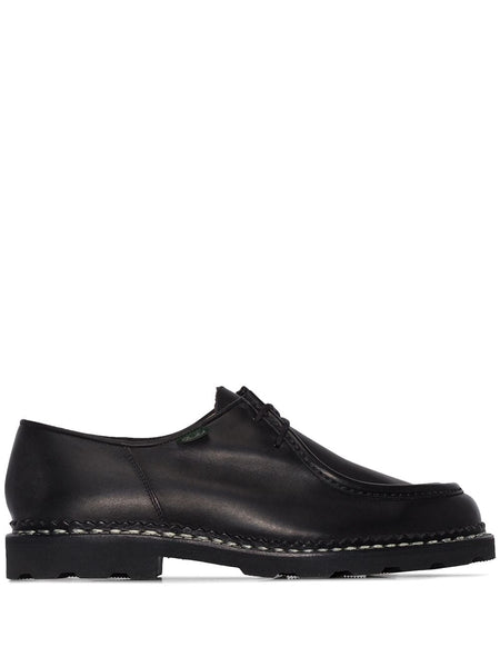 MICHAEL LISSE LACE-UP SHOES - NOIR (BLACK)