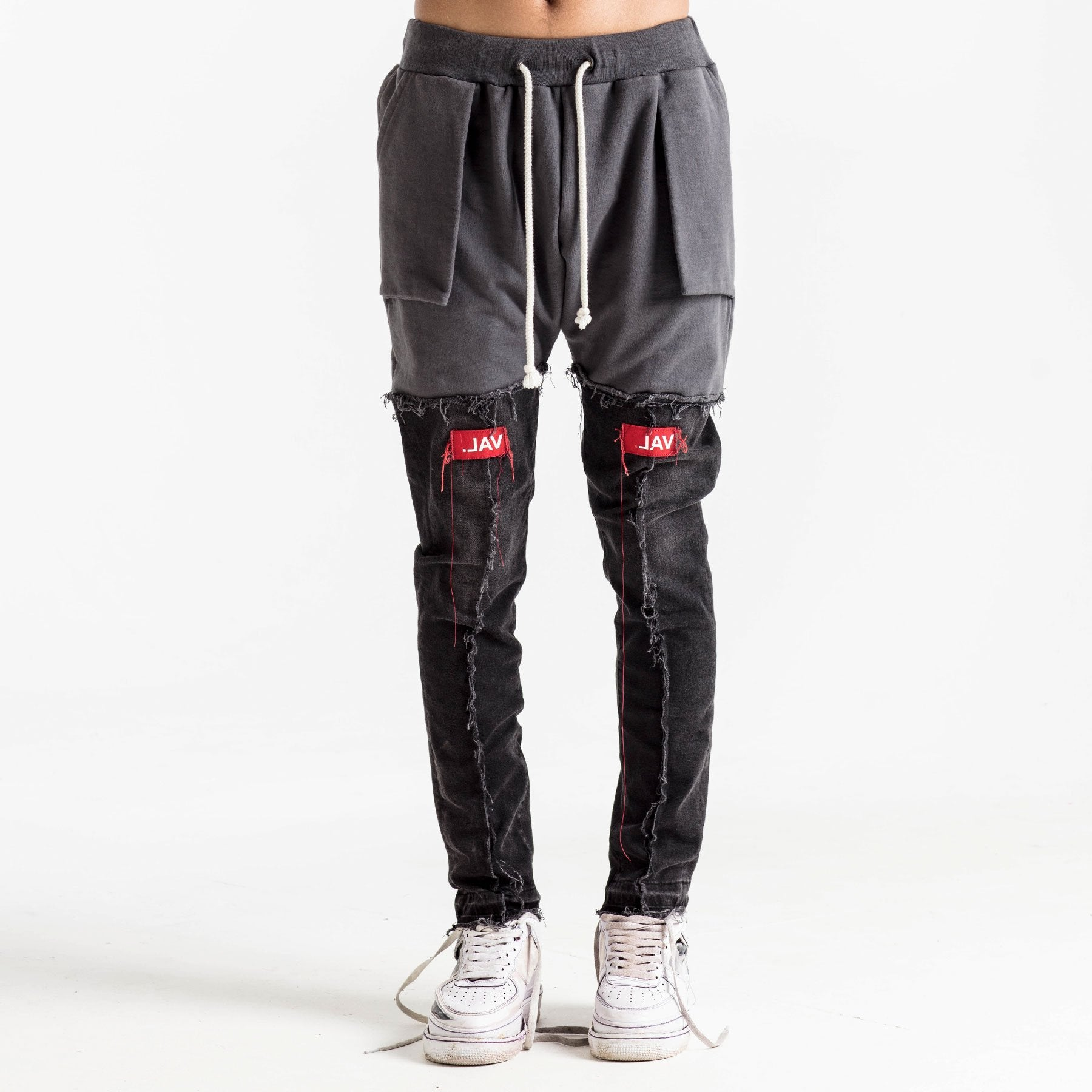 LOGO JOGGER DENIM