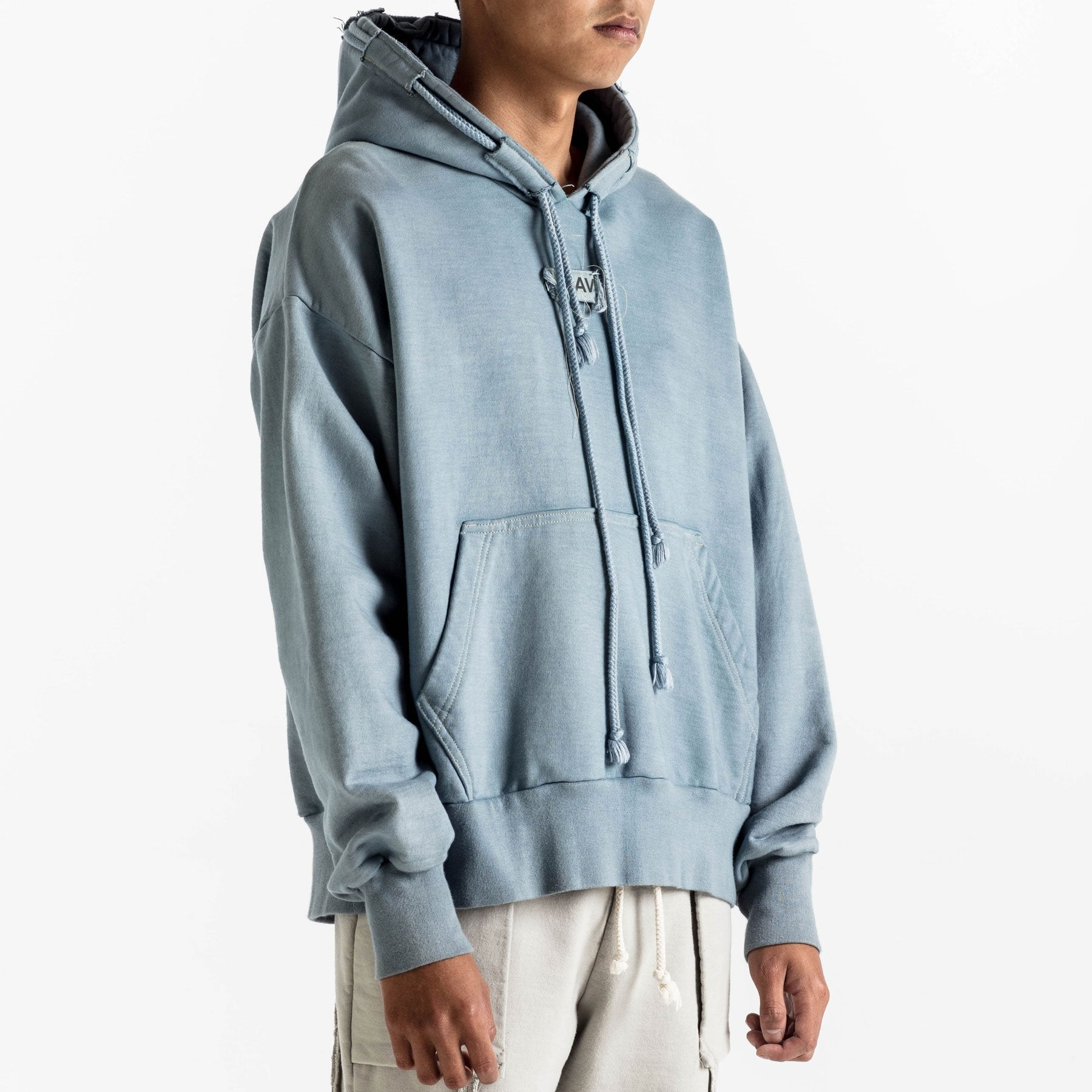 DOUBLE CORD HOODIE