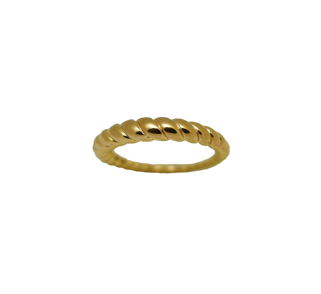 Ring Croissant Gold