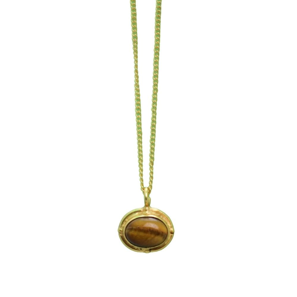 Ketting Tiger Eye Goud