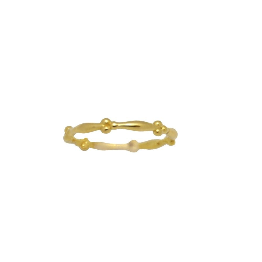 Ring Tiny Twisted Gold