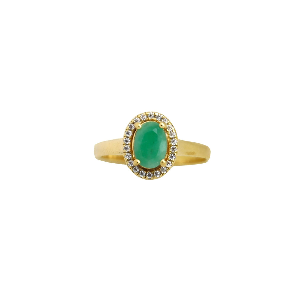Ring Vintage Emerald Gold