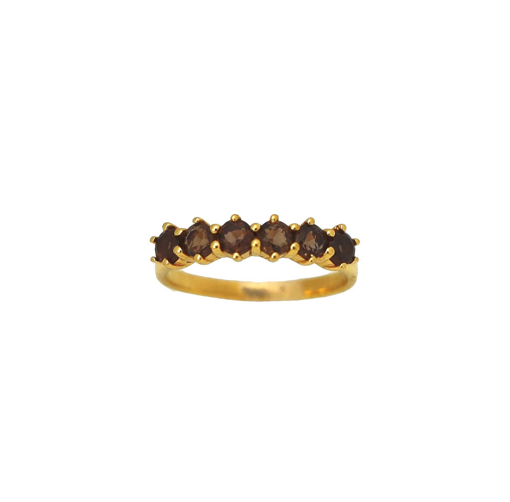 Ring Vintage Smoky Gold