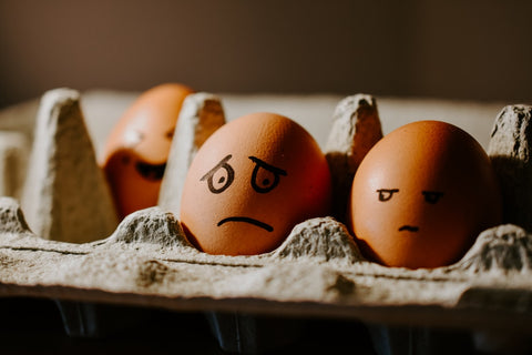 confused eggs