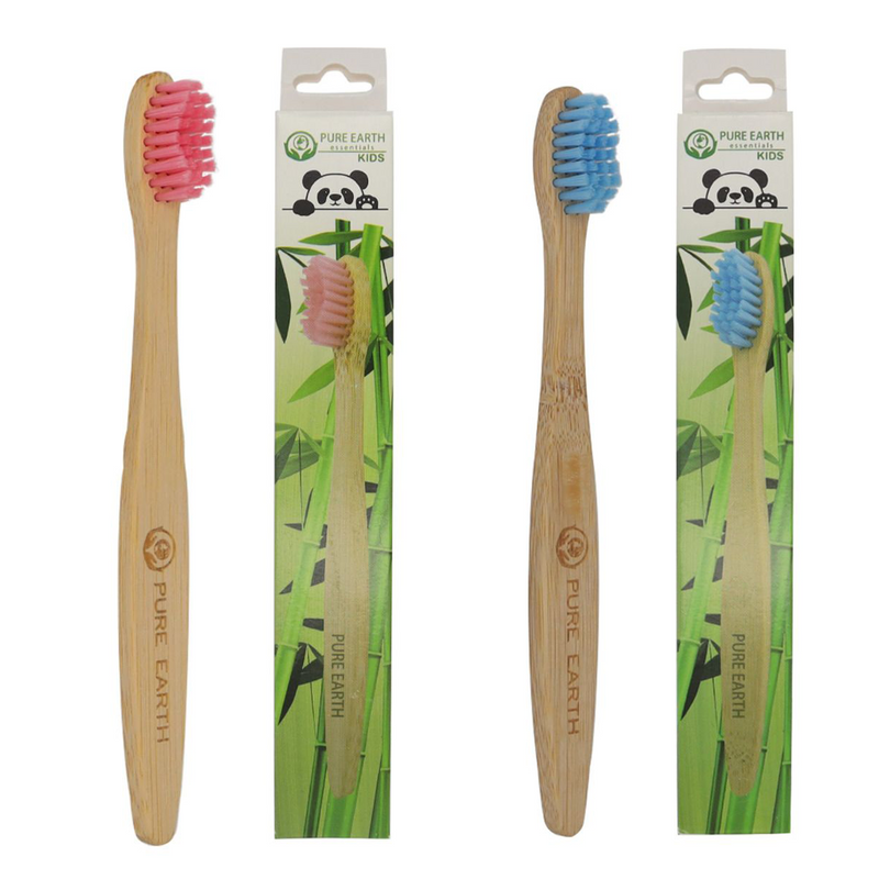 Kids Organic Bamboo Toothbrush - Single Pack