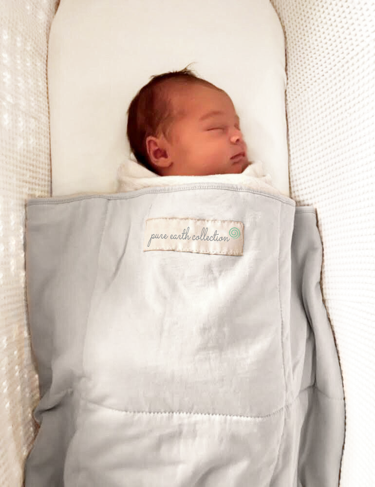 Bamboo baby blanket - standard size