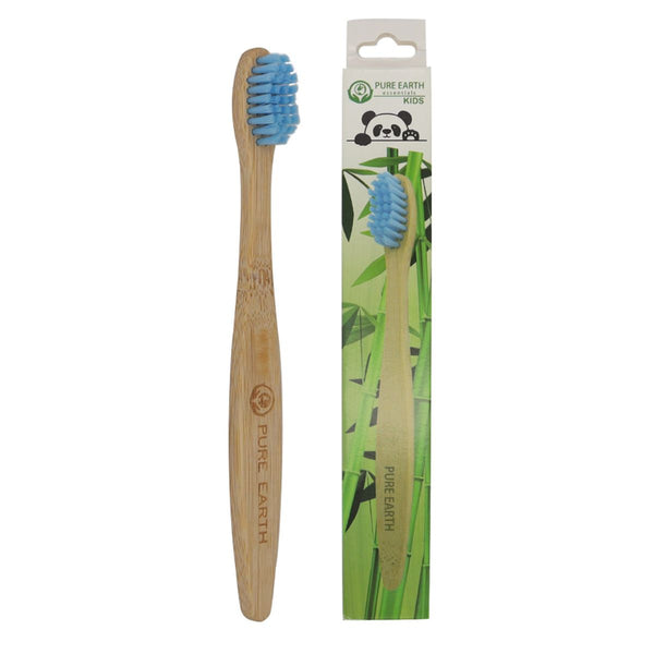 Kids Organic Bamboo Toothbrush - Single Pack - Starts at £0.85 per item