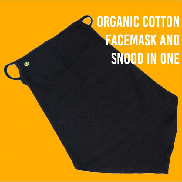 100% Pure Organic Cotton Face Neck Mask and Snood