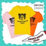 Angry girls club pink/yellow/orange (kids) t-shirts