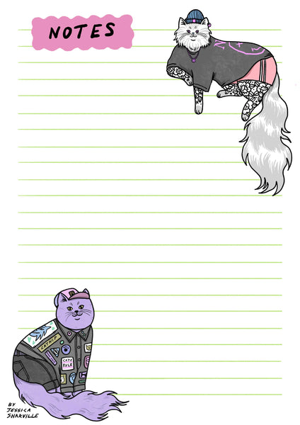 Hipster Cats A6 Notebook