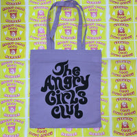 The Angry Girls Club 70's Tote Bag