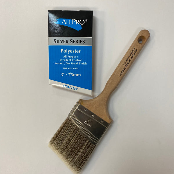 Silver Firm-Flex Brush 75mm