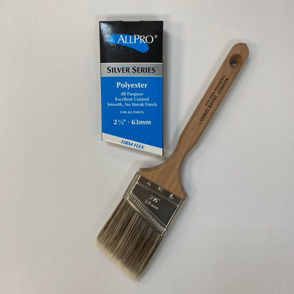 Silver Firm-Flex Brush 63mm