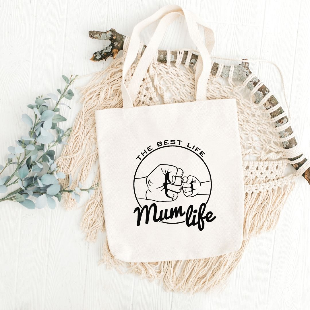 Mum life tote bag - Through the Milky Way