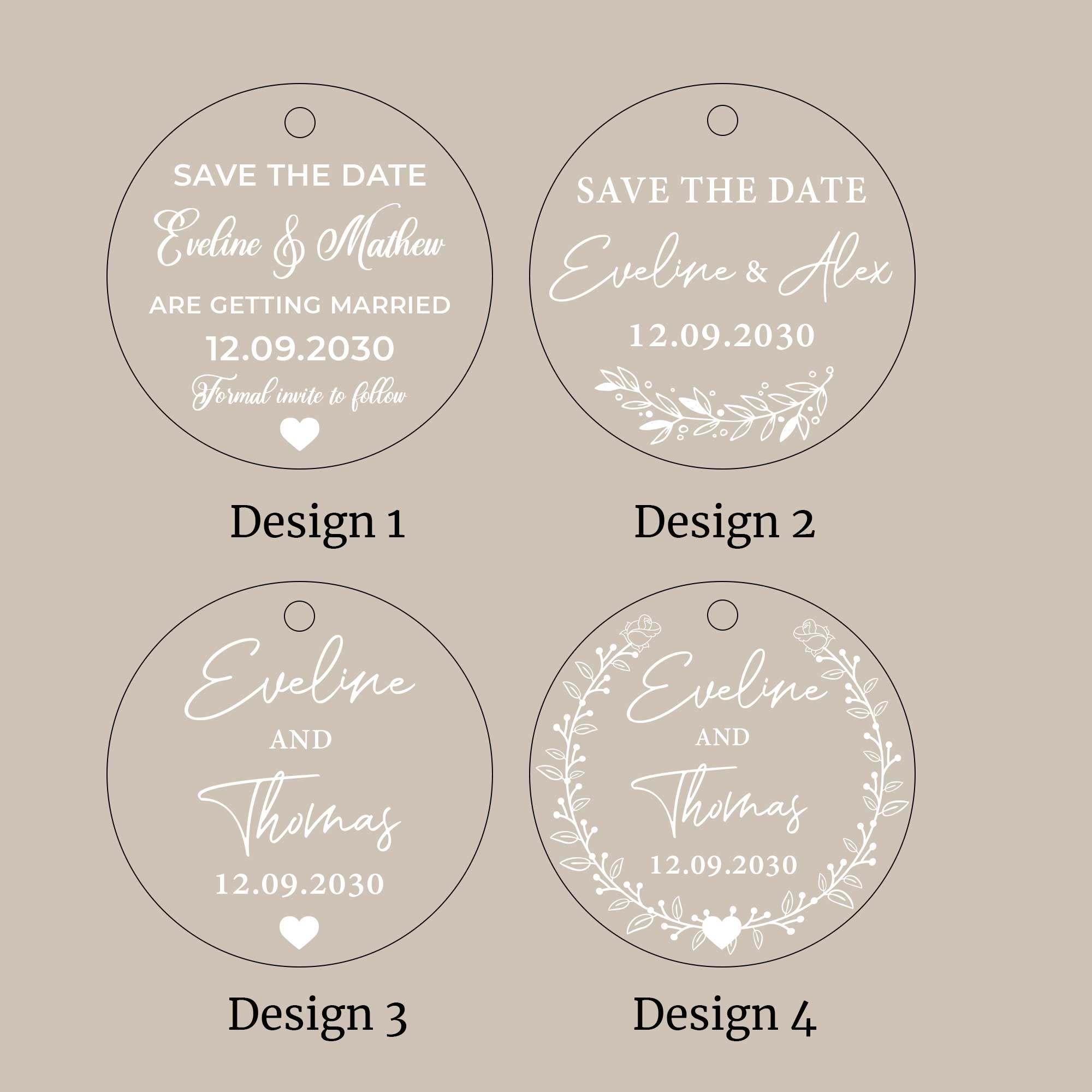 Hanging Acrylic Save the Date Cards, Personalized Acrylic Magnet, Modern Save the Date Magnet, Save the Date Magnet, Clear Save the Date, Custom Wedding Acrylic Save the Date