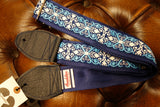 Souldier Constantine Guitar Strap Blue / Turquoise