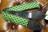 Souldier Celtic Knot Green Guitar Strap