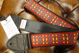 Souldier Hendrix Monterey Red Guitar Strap rear