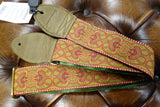 Souldier Arabesque Red Guitar Strap