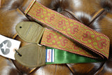 Souldier Arabesque Red Guitar Strap rear