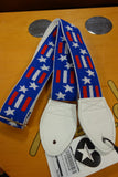Souldier Stars & Bars Red White Blue guitarstraps
