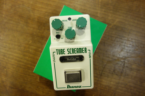 Ibanez NTS Nu Tubescreamer 2018 White with Green