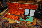 Fender Limited Edition 1960 HS Tele Custom Heavy Relic 2020 Aged Surf Green over 3-Color Sunburst