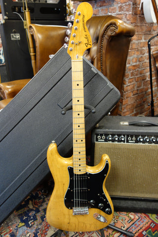 Fender Stratocaster Hard Tail 1977 Natural