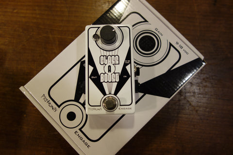 Pigtronix Class A Boost Cream/White