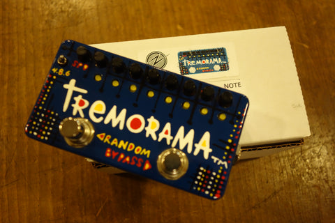 Zvex Tremorama Hand Wired USA