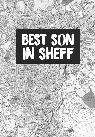 """Best Son In Sheff"" Card"
