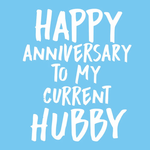 """Current Hubby"" Card"