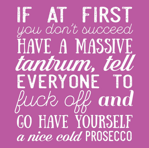 """Nice Cold Prosecco"" Card"