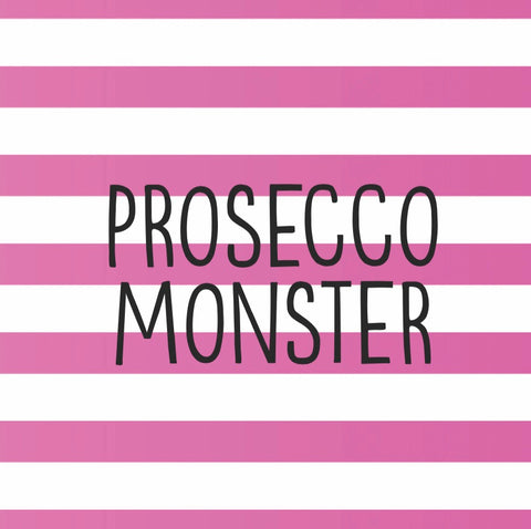 """Prosecco Monster"" Card"
