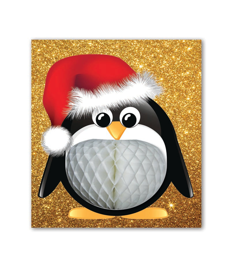PaperJoy Xmas: Penguin White Belly