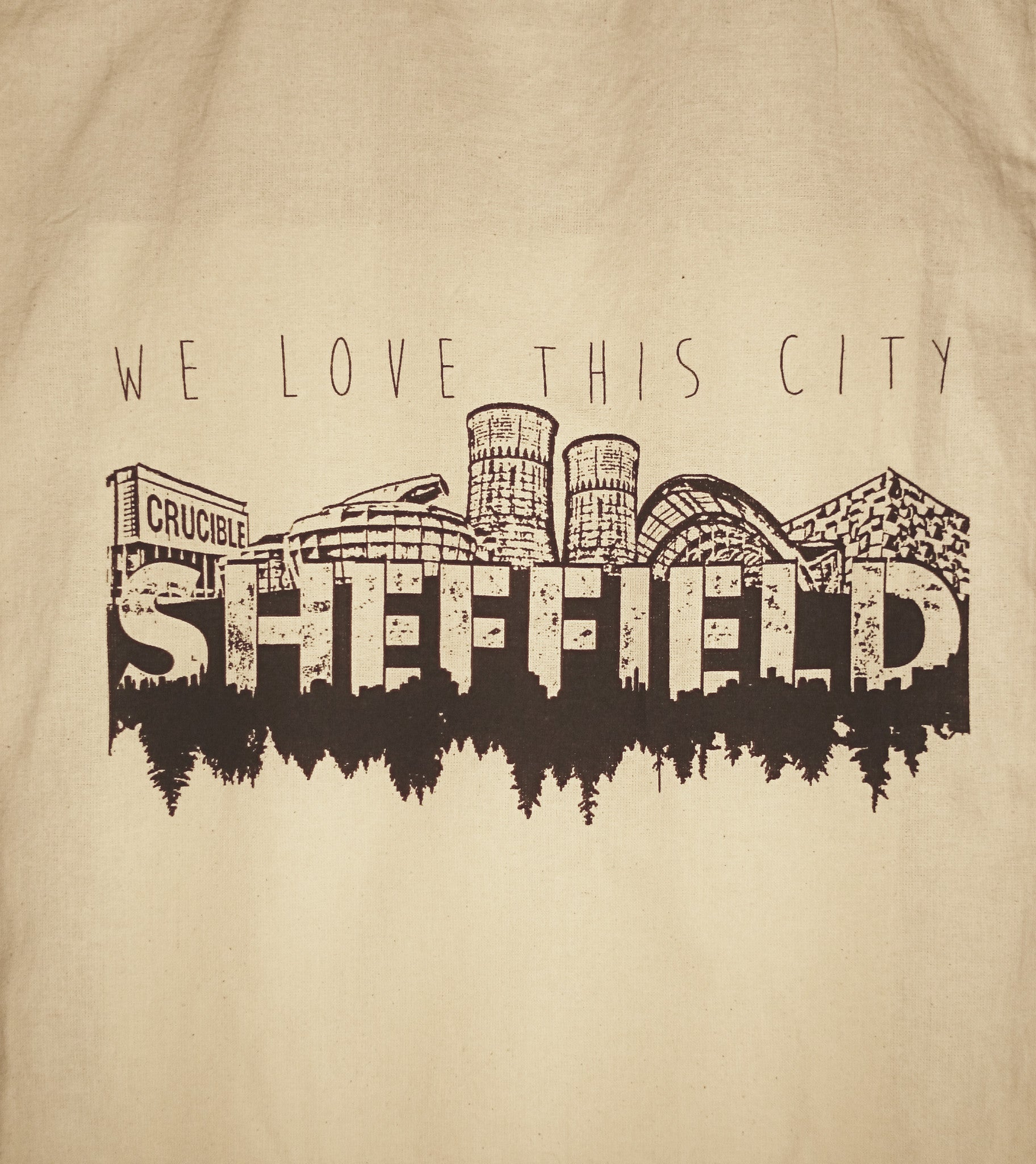 'We Love This City' Cotton Eco Bag