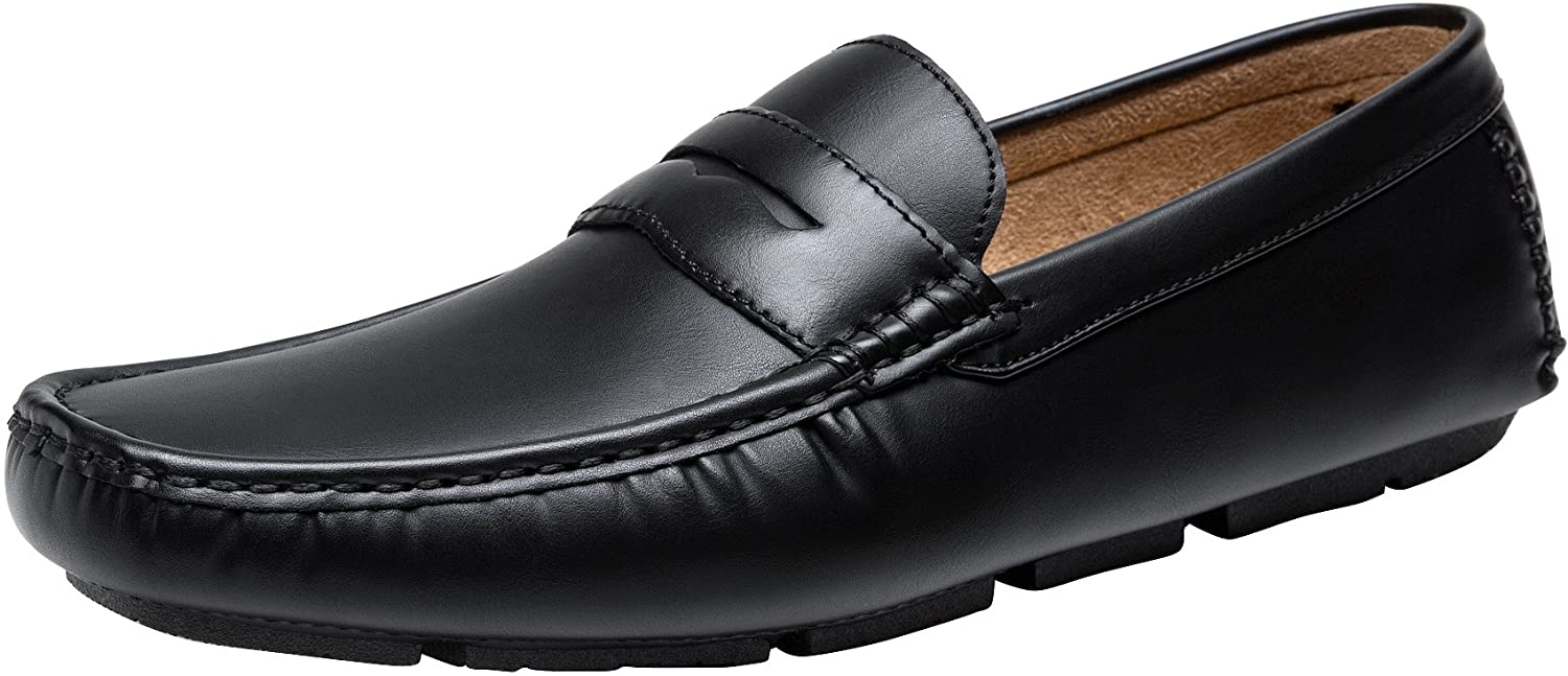 Men's Casual Slip On Penny Loafers | Jousen