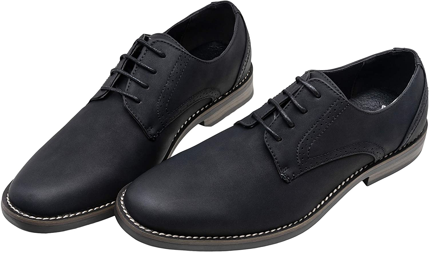 Mens Dress Shoes Retro Business Casual Oxfords | Jousen