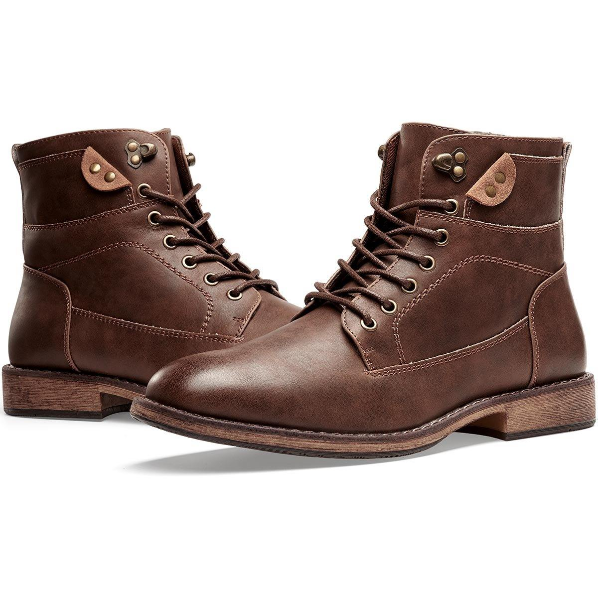 Men's Motorcycle Boots Business Casual | VOSTEY - Top shoes club