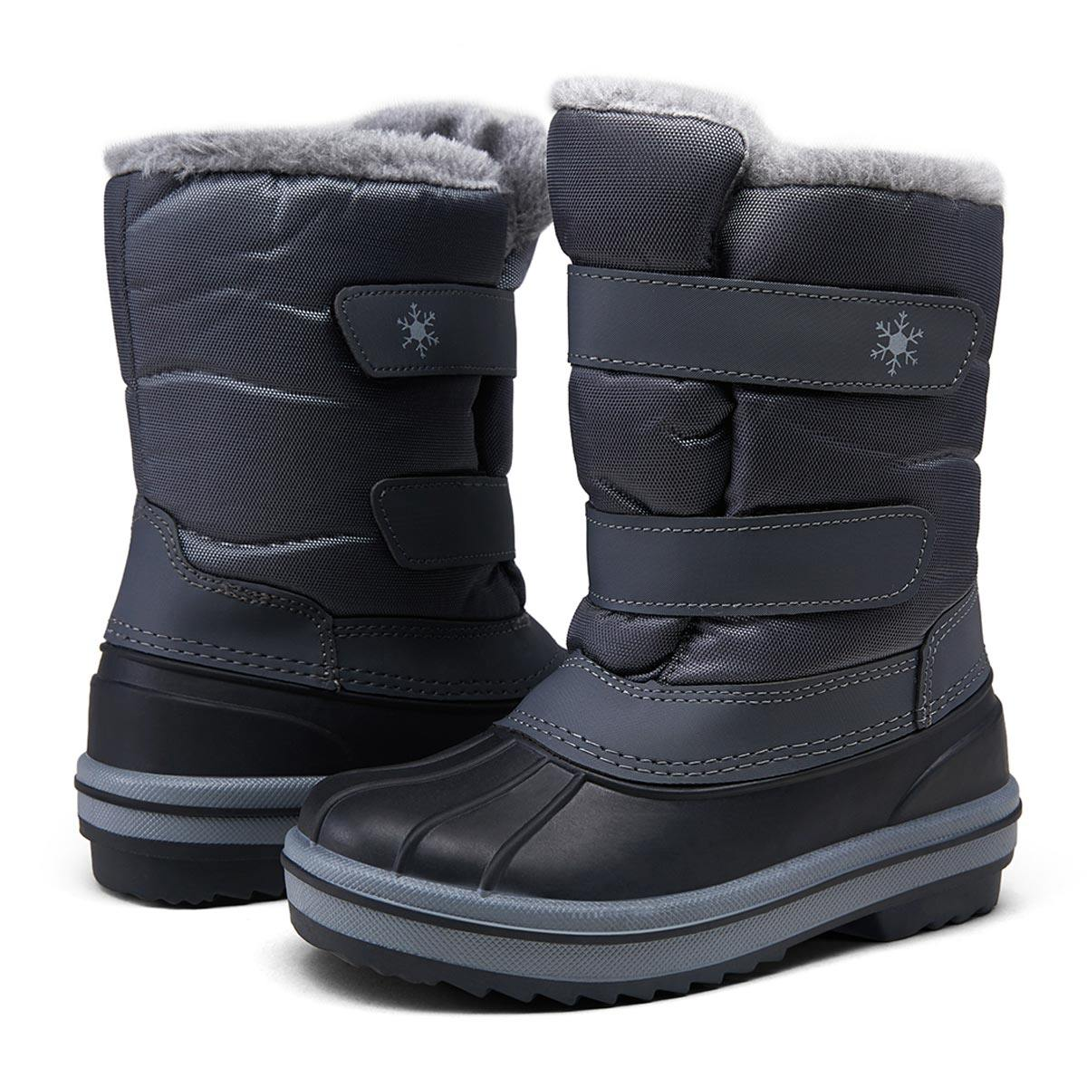 Kids Snow Winter Boots Hiking Waterproof Non-Slip | Vepose - Top shoes club