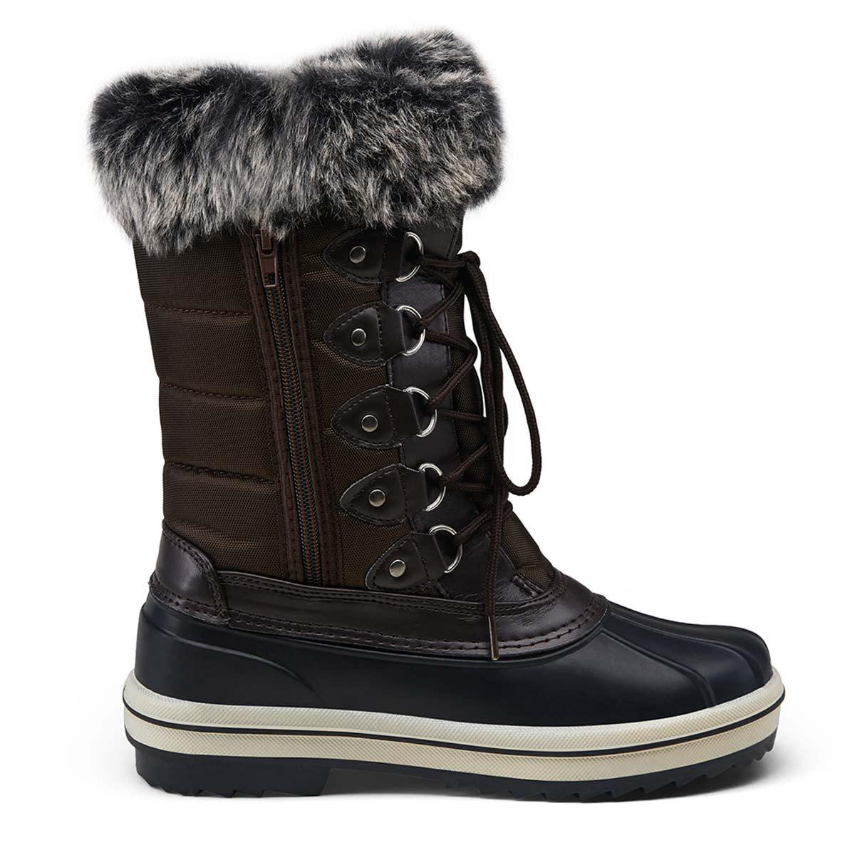 Waterproof Snow Women Boots Mid Calf | Vepose - Top shoes club