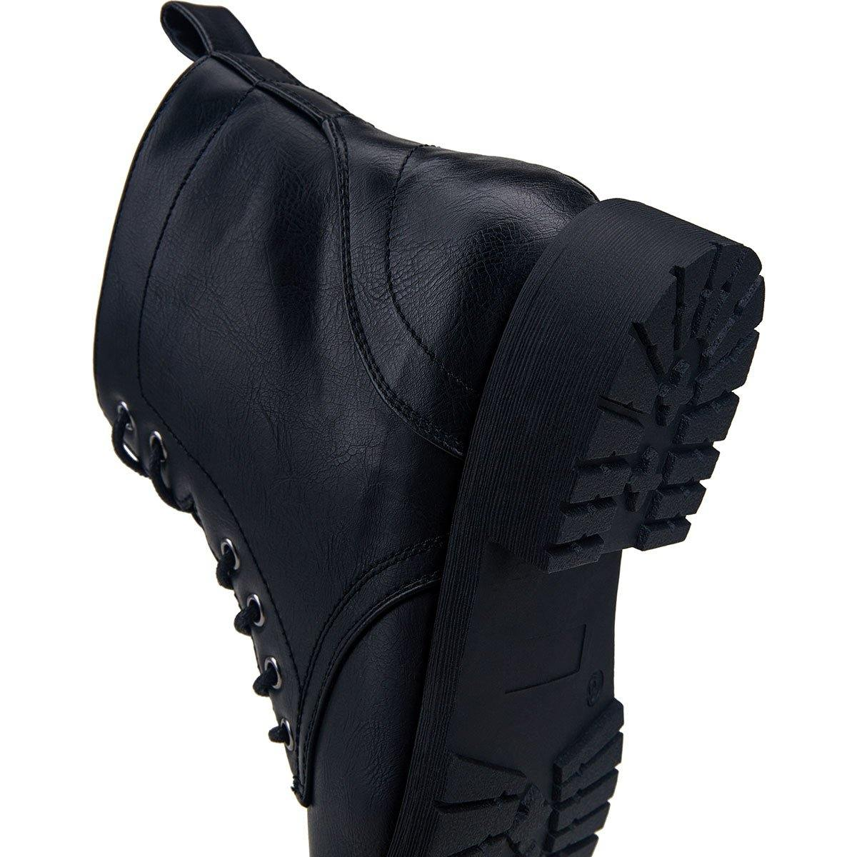 Fashion Ankle Women Booties Combat Boots | Vepose - Top shoes club