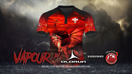 The Brand New 'Vapour' Rugby Shirt from Olorun Sports