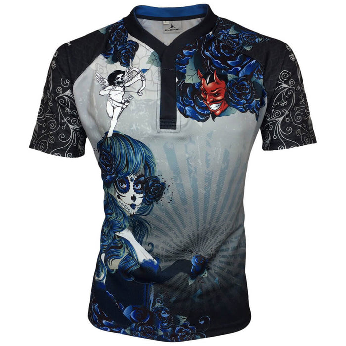 Olorun Acapulco Angels 2.0 Halloween Rugby Shirt